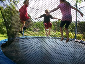 trampoline-filet-sécurité