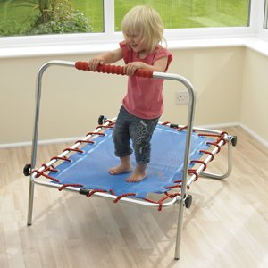 Trampoline d 39 int rieur for Trampoline interieur