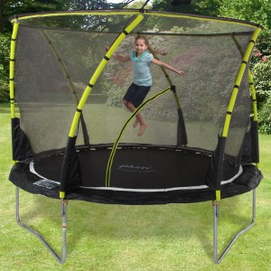 trampoline-jaune-pour-enfant