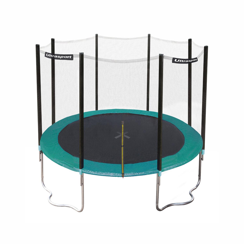 Trampoline de jardin ultrasport jumper 305cm meilleur - Petit trampoline decathlon ...