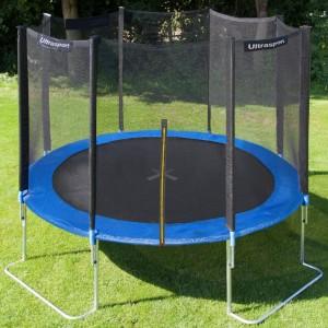Trampoline de jardin ultrasport jumper 305cm meilleur trampoline - Gartentrampolin stiftung warentest ...