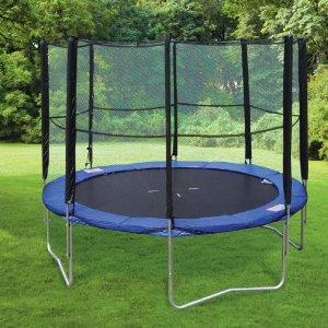 Trampoline ext rieur bien le choisir avec les conseils de meilleur trampoli - Trampoline d exterieur ...