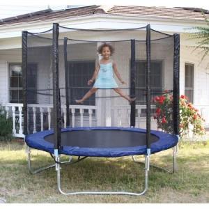trampoline-avec-filet-enfant-en-metal