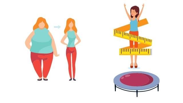 Est-ce que le trampoline fait maigrir : le résultat