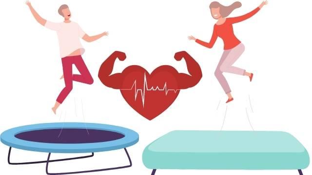 Entretien Cardio en trampoline