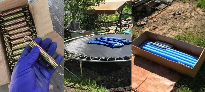 Comment monter un trampoline