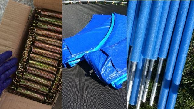 Trampoline rond : des accessoires facilement disponibles